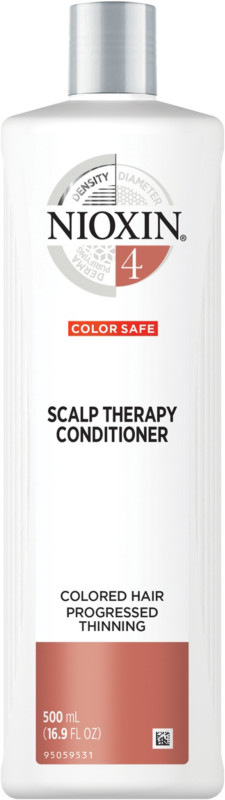 Scalp Therapy Conditioner, System 4 (Color Treated Hair/Progressed Thinning) - 16.9oz