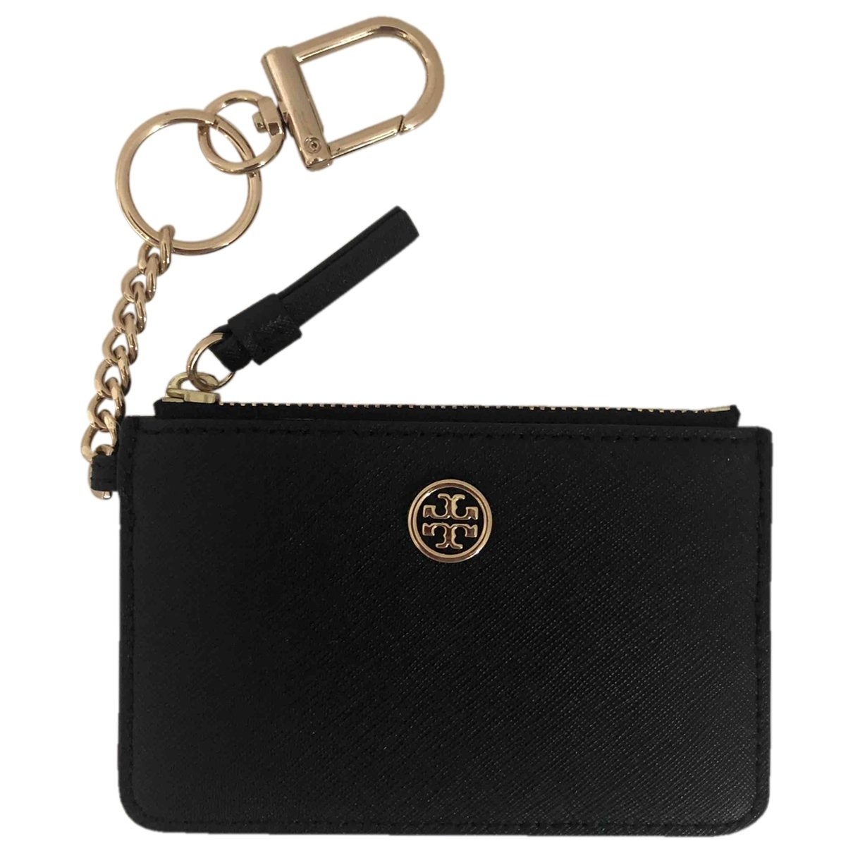 Tory Burch \N Black Leather Purses, wallet & cases for Women \N