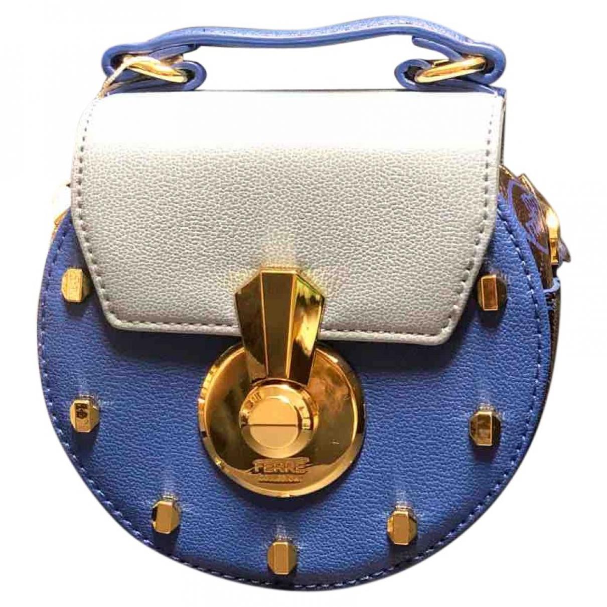 Gianfranco Ferré \N Blue Leather handbag for Women \N