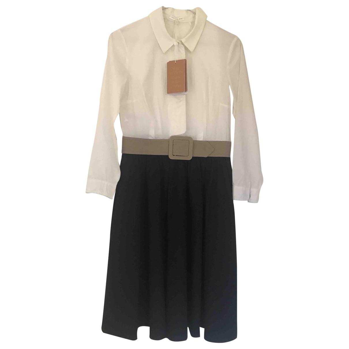 Paule Ka - Robe   pour femme en coton - noir