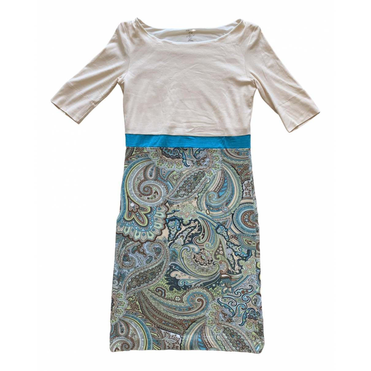 Marc Cain \N Kleid in  Beige Baumwolle - Elasthan
