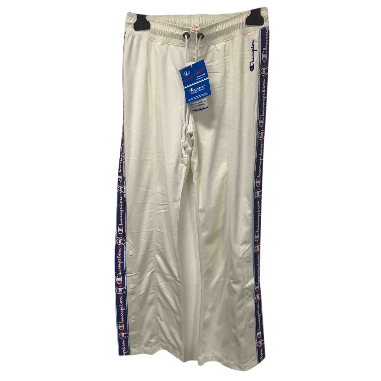 Champion N White Trousers for Women XS International