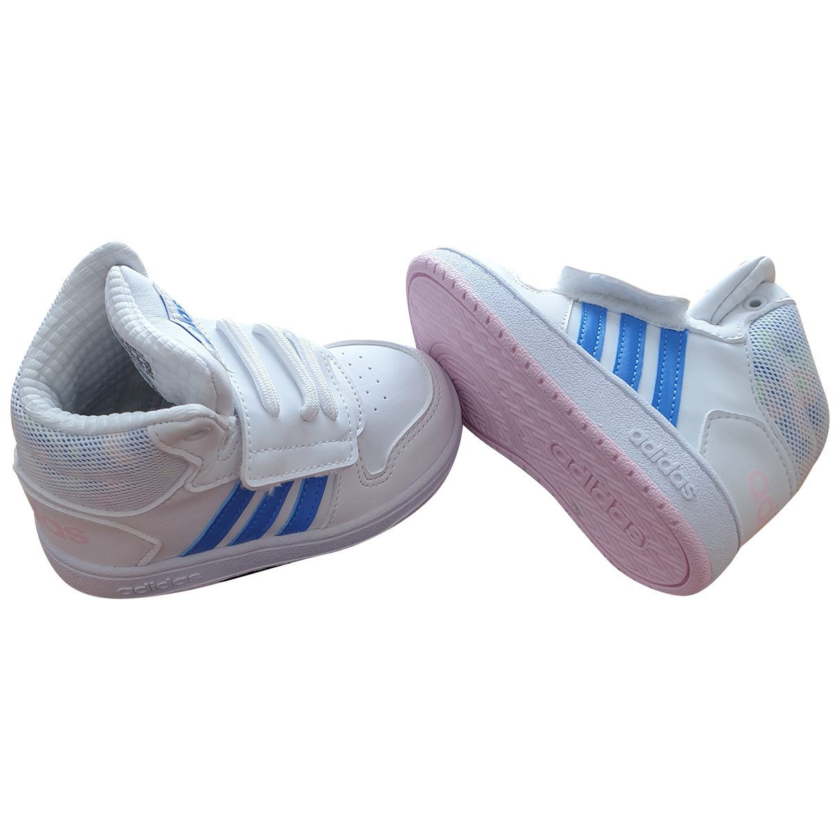 Adidas N White Trainers for Kids 23 FR