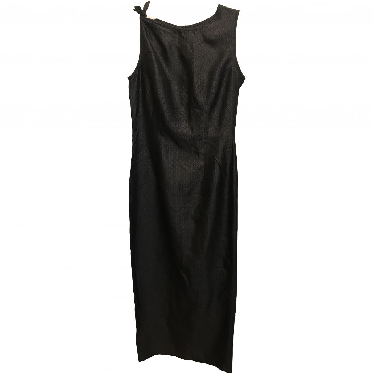 Dries Van Noten \N Black Silk dress for Women 38 FR