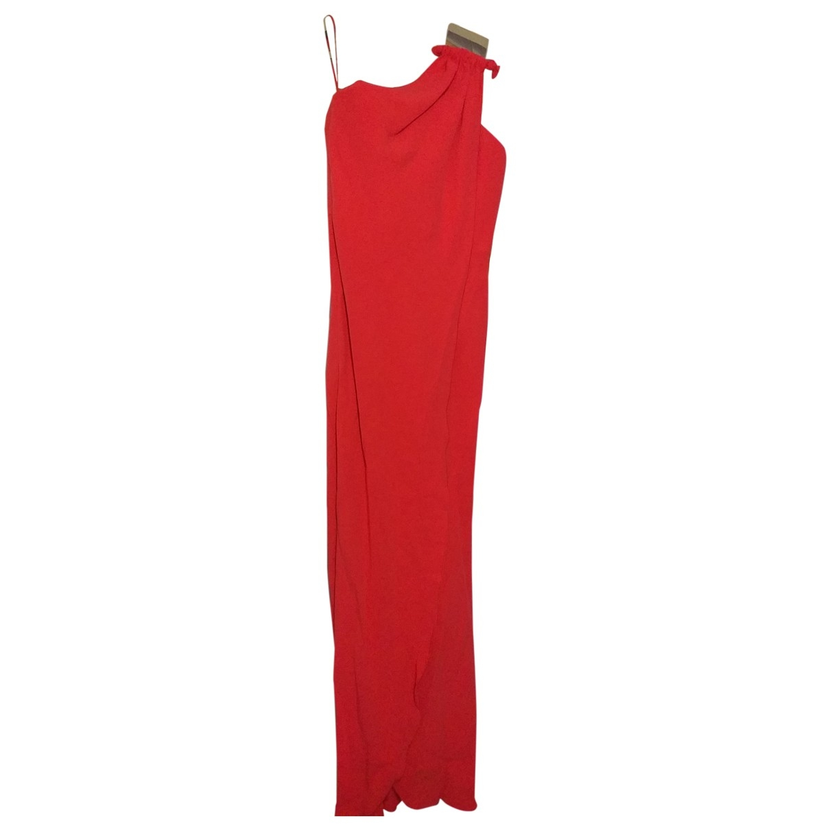 Giorgio Armani \N Kleid in  Rot Seide