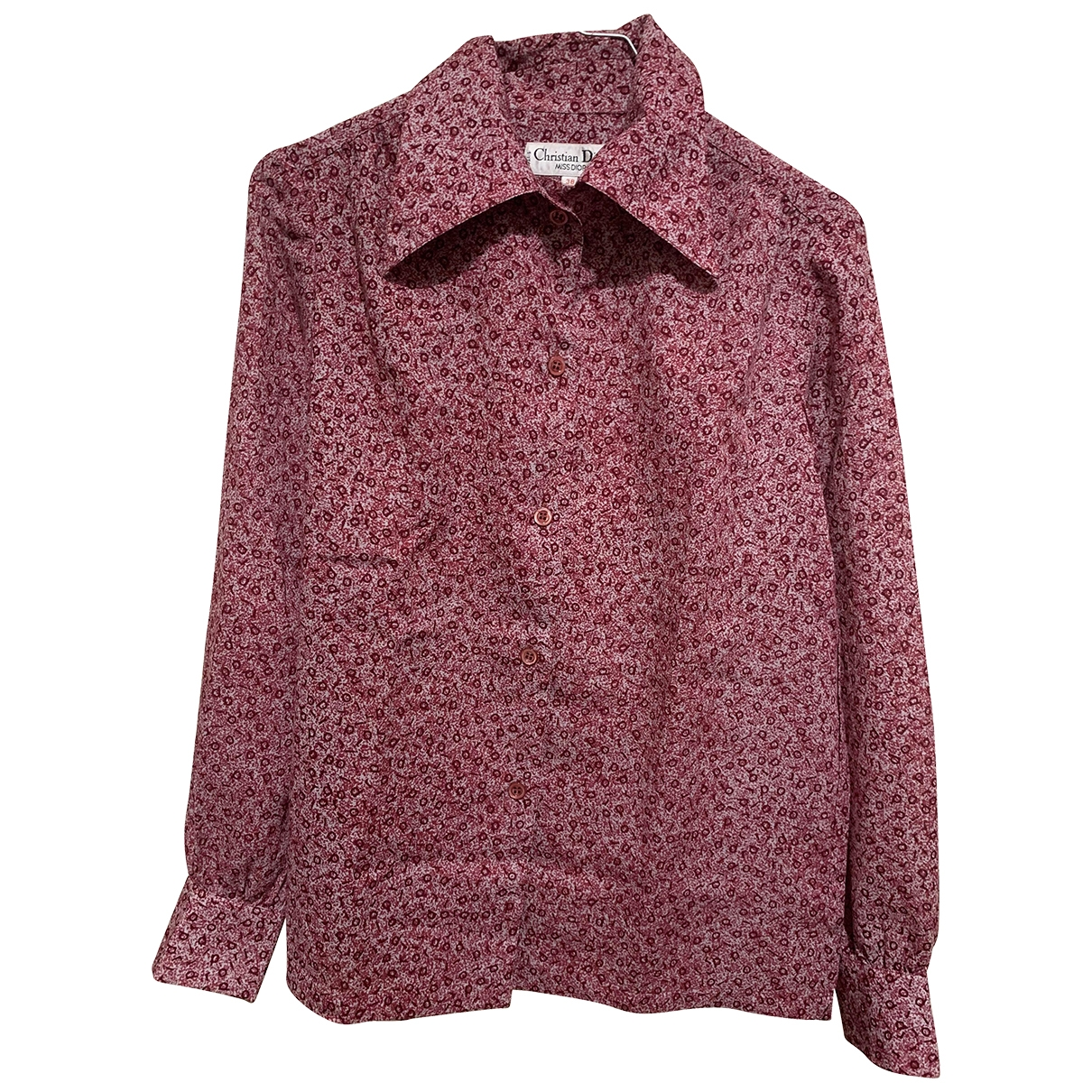Dior \N Top in  Rosa Wolle