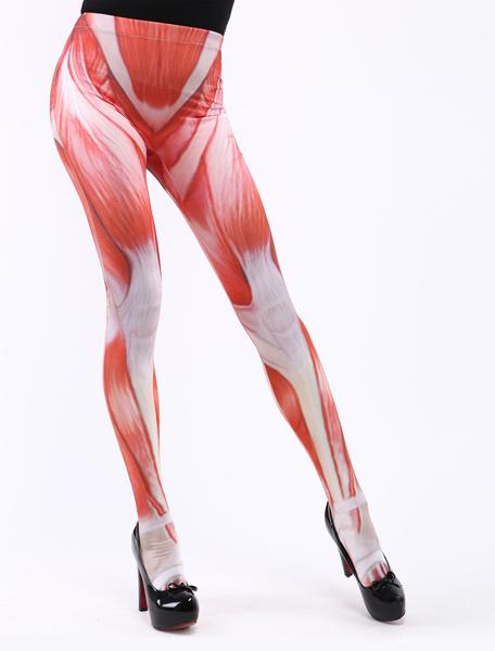 Milanoo Halloween Attack On Titan Flesh Zentai Skinny Pants Halloween