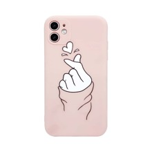 1pc Heart Pattern iPhone Case