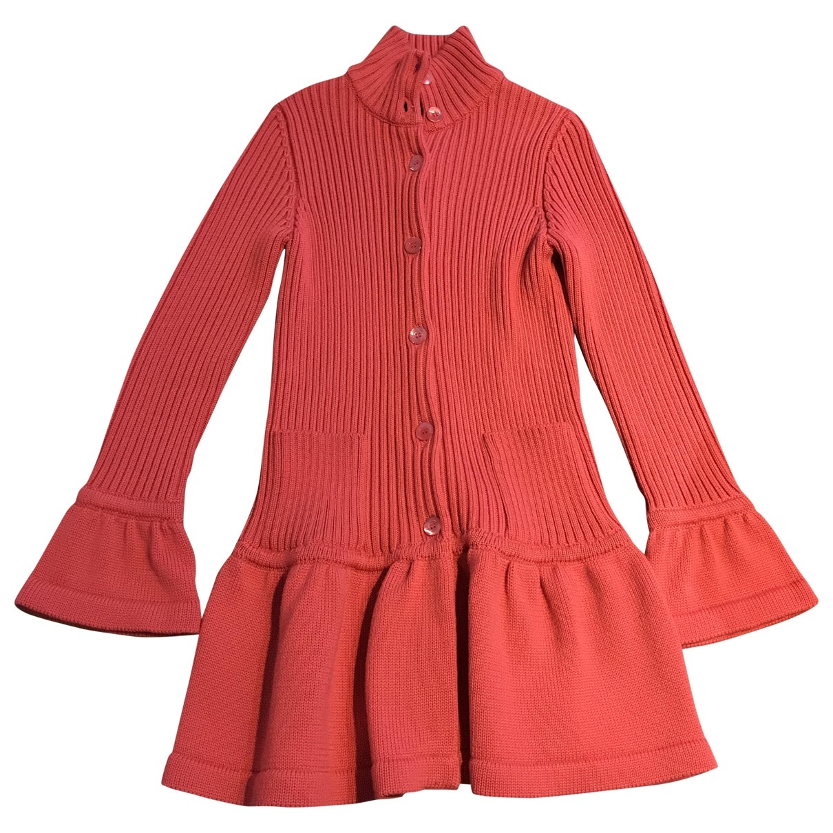 Moschino - Pull   pour femme en laine - rose