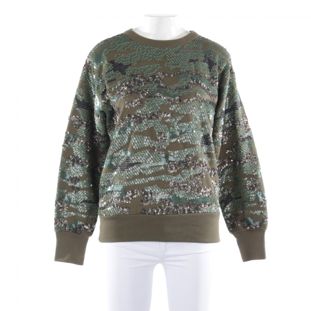 Isabel Marant - Pull   pour femme en cuir - vert
