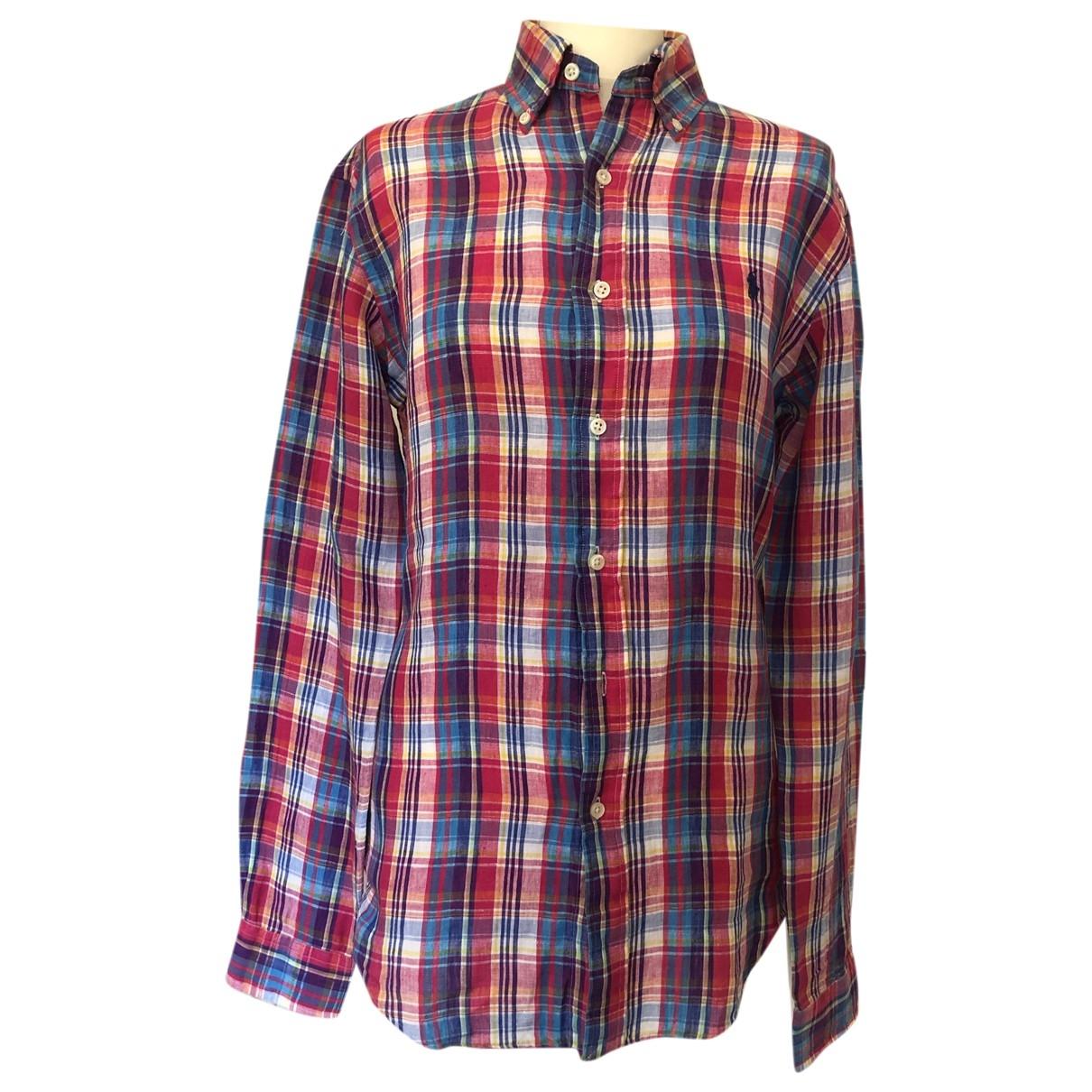 Ralph Lauren \N Multicolour Linen Shirts for Men S International