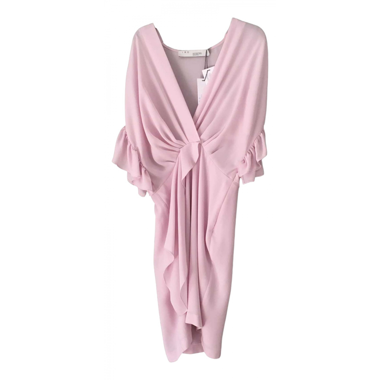 Iro Spring Summer 2019 Kleid in  Rosa Synthetik