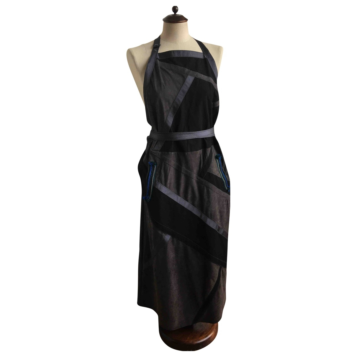 Bottega Veneta - Jupe   pour femme en suede - noir