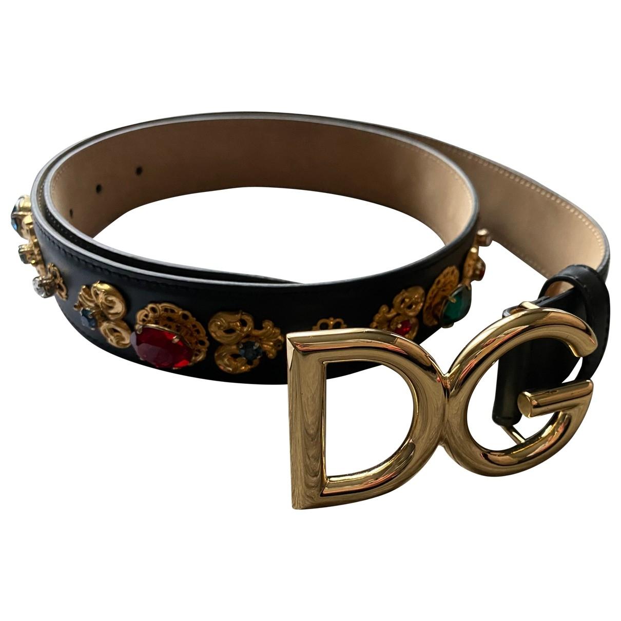 Dolce & Gabbana \N Guertel in  Bunt Leder