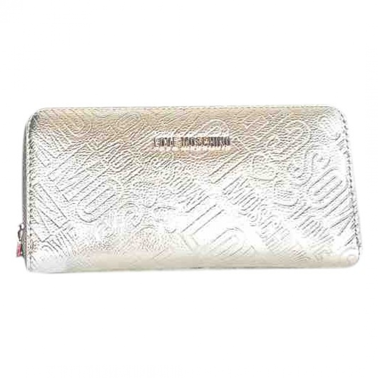 Moschino Love \N Beige Leather wallet for Women \N