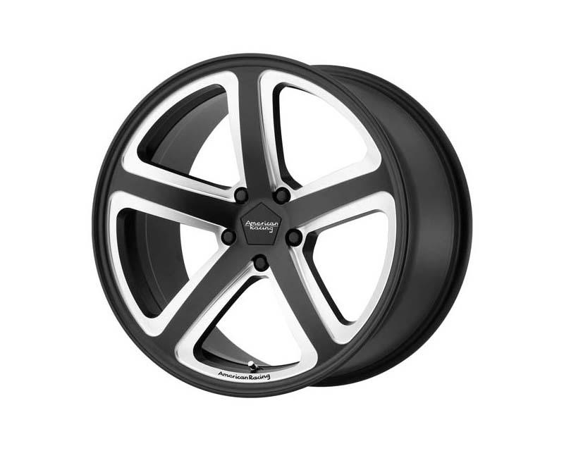 American Racing AR922 Hot Lap Wheel 18x8 5x115 15mm Satin Black Milled