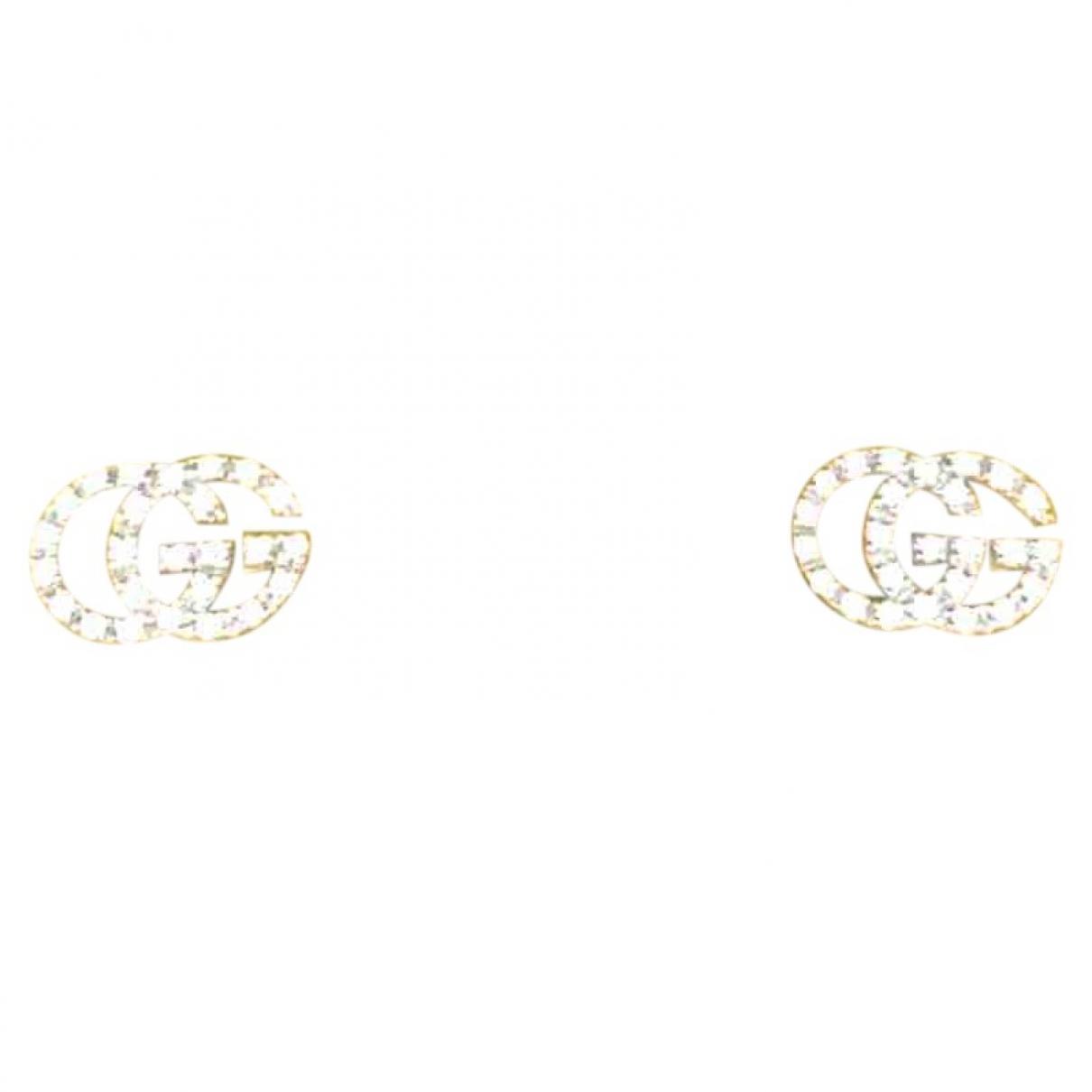 Gucci - Boucles doreilles   pour femme en or blanc - argente