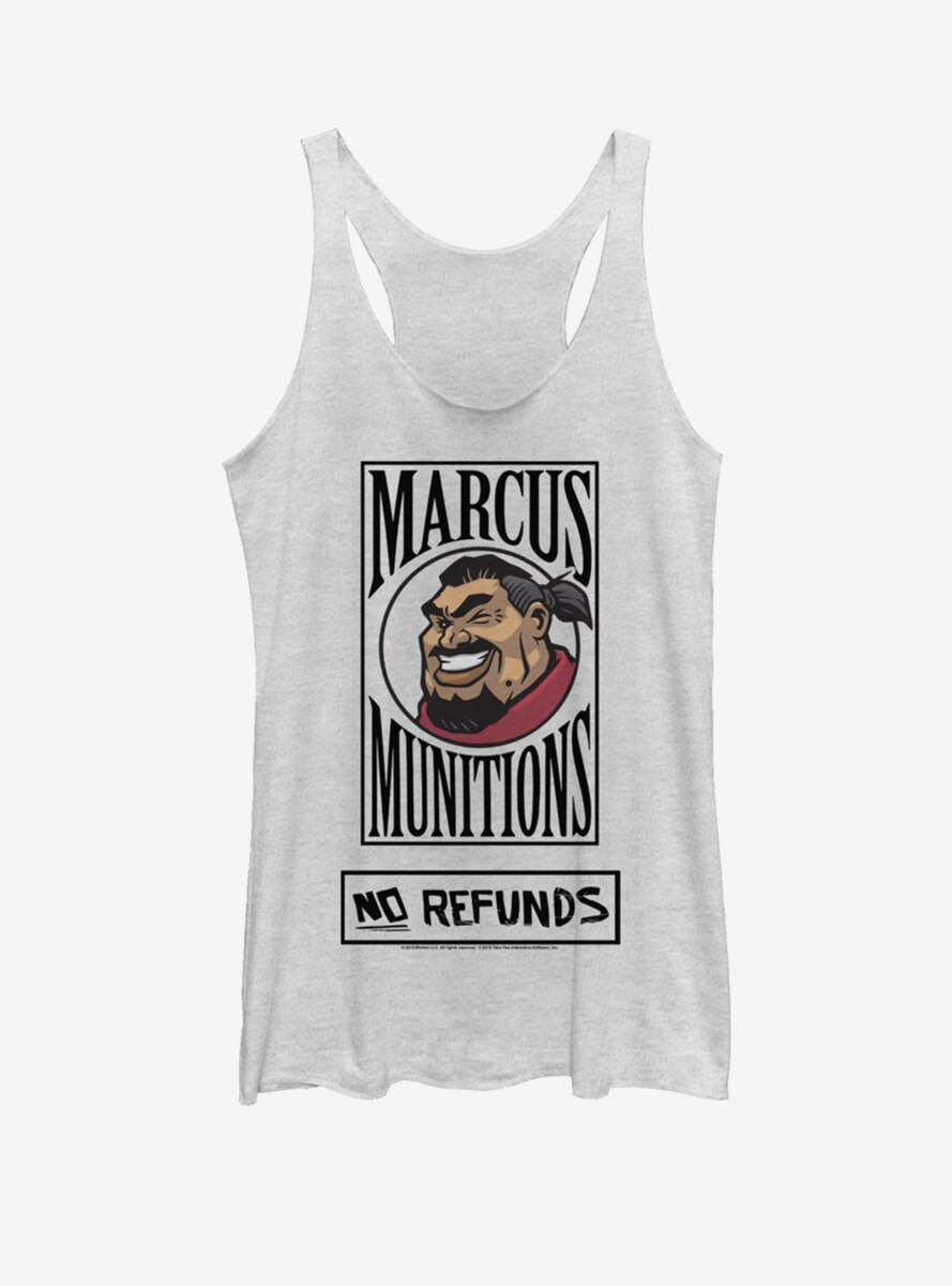 Borderlands 3 Marcus Munitions No Refunds Womens Tank Top