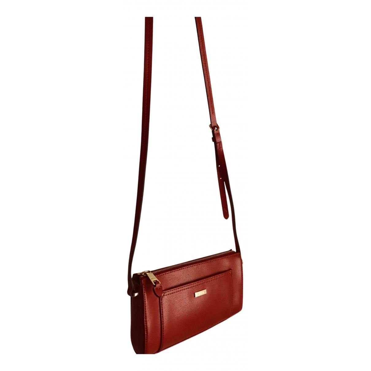 Lauren Ralph Lauren N Red Leather handbag for Women N