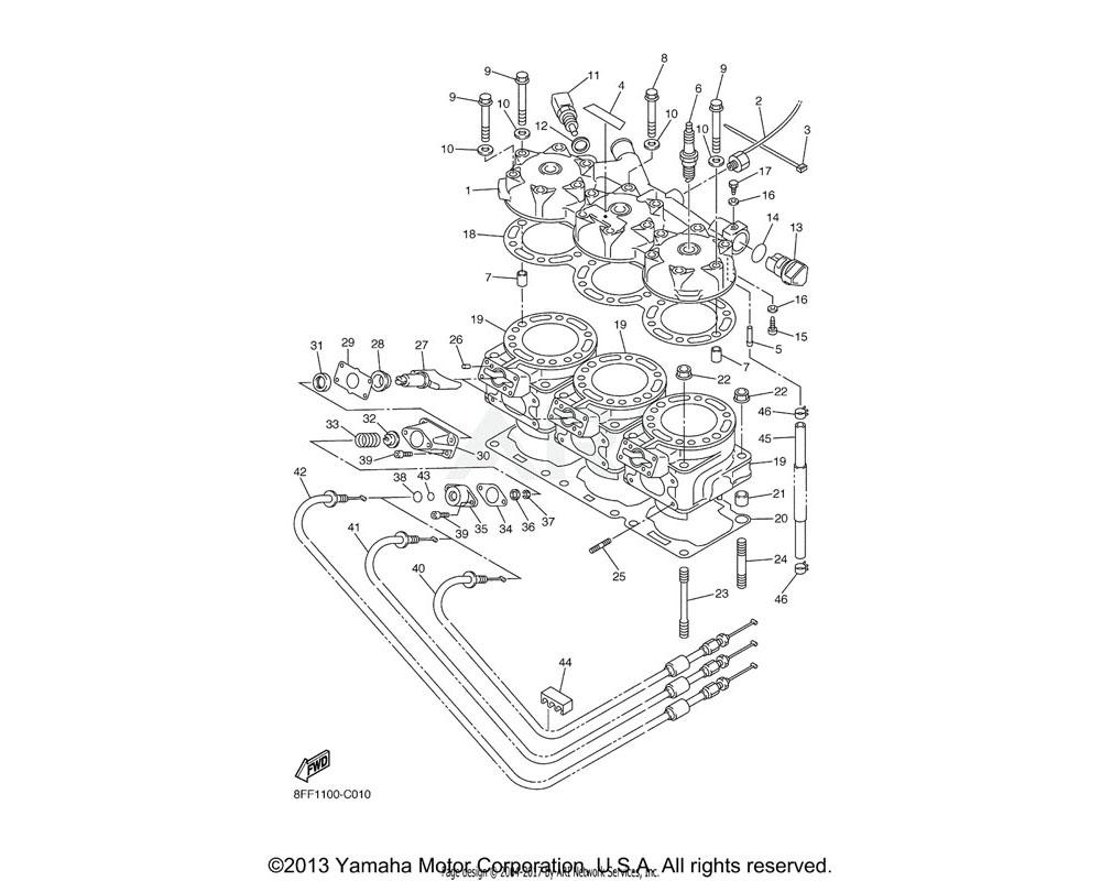 Yamaha OEM 90201-092U3-00 WASHER, PLATE