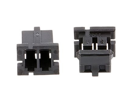 Hirose , DF3 Female Connector Housing, 2mm Pitch, 2 Way, 1 Row (10)