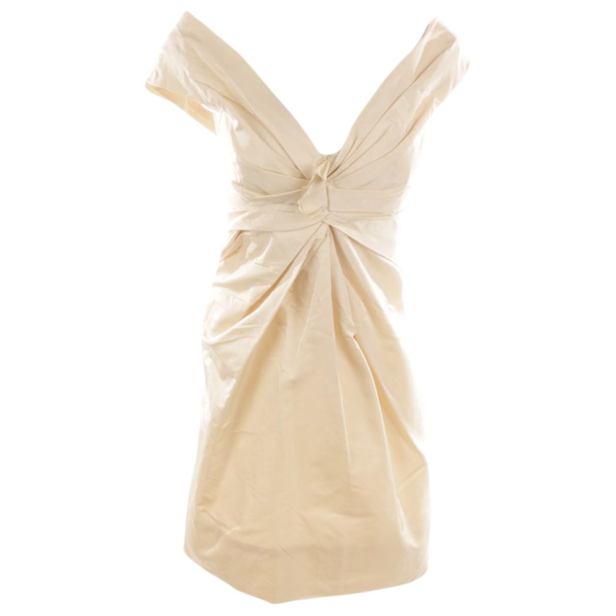 Marc Jacobs - Robe   pour femme en soie - blanc