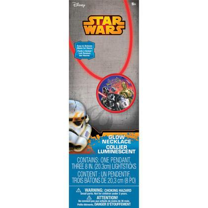 Star Wars 1 Glow Necklace Pour la fête d'anniversaire