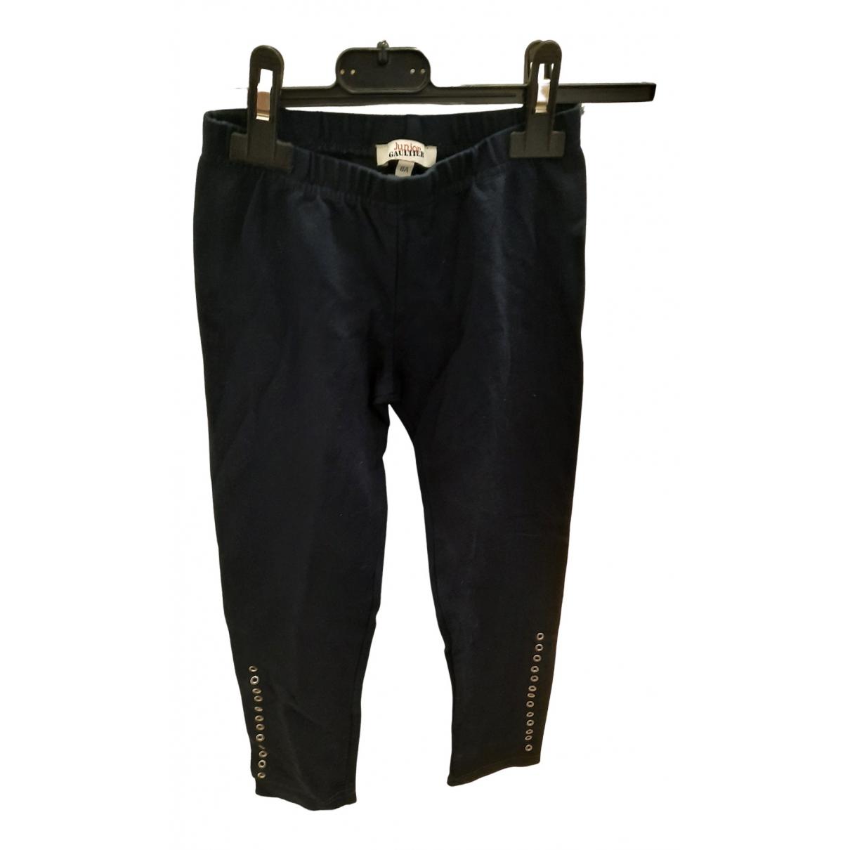 Gaultier Junior - Pantalon   pour enfant en coton - bleu