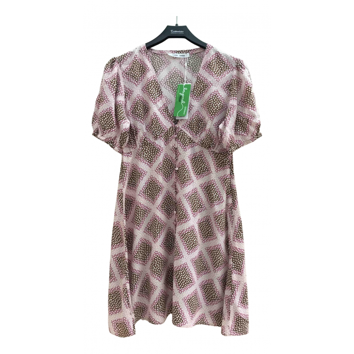 Samsoe & Samsoe N Pink dress for Women M International