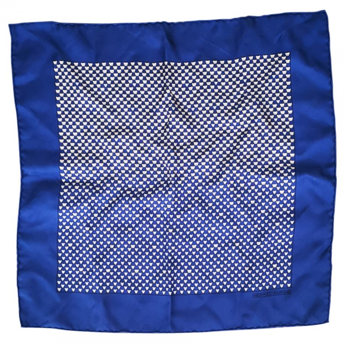 Hermès Gavroche 45 Blue Silk scarf for Women \N
