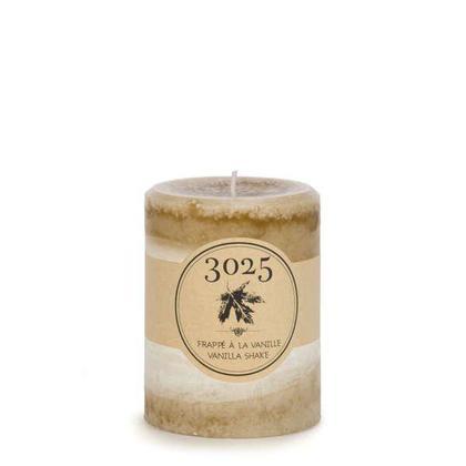 Caramel Col. Candle - Vanilla Shake 3 X 4