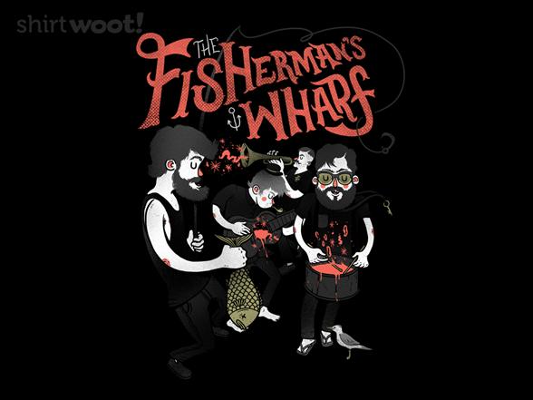 Fisherman's Wharf T Shirt