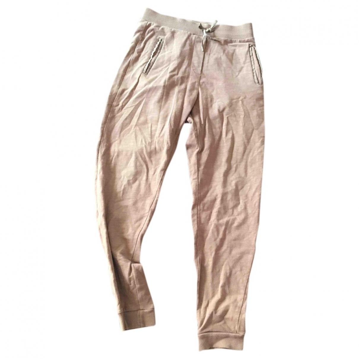 Chloe - Pantalon   pour enfant en coton - marron