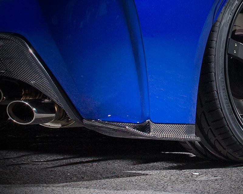 Novel Carbon Rear Lip Spoiler Lexus RC-F 15-16