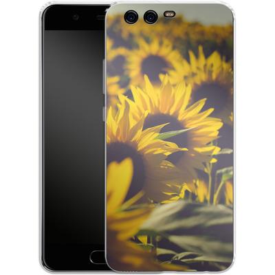 Huawei P10 Silikon Handyhuelle - Sunflower 2 von Joy StClaire