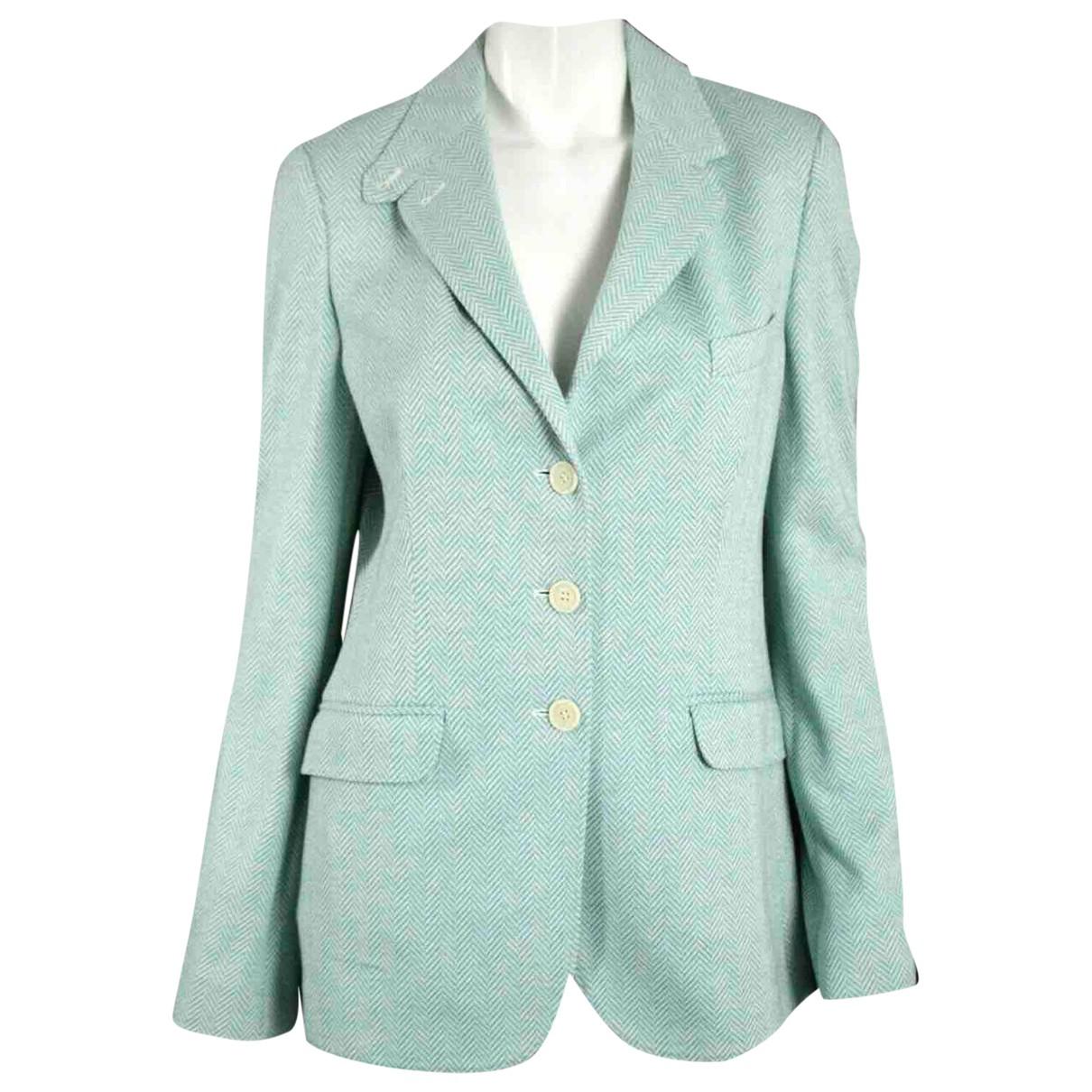 Loro Piana - Veste   pour femme en coton - bleu