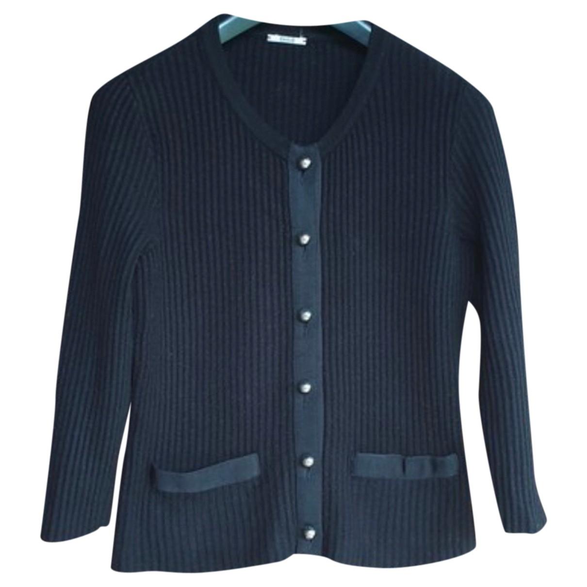 Wolford - Pull   pour femme en laine - noir