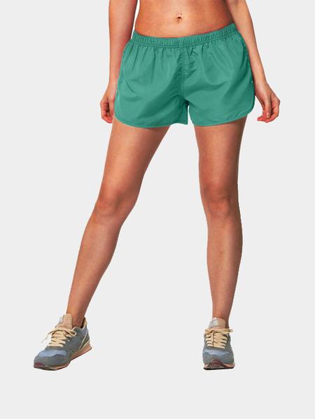 Yoins Elastic Waist Gym Shorts in Aqua
