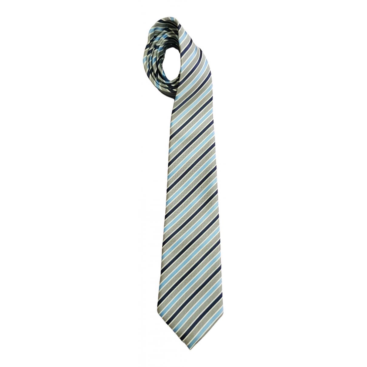 Paul Smith \N Krawatten in  Gruen Seide