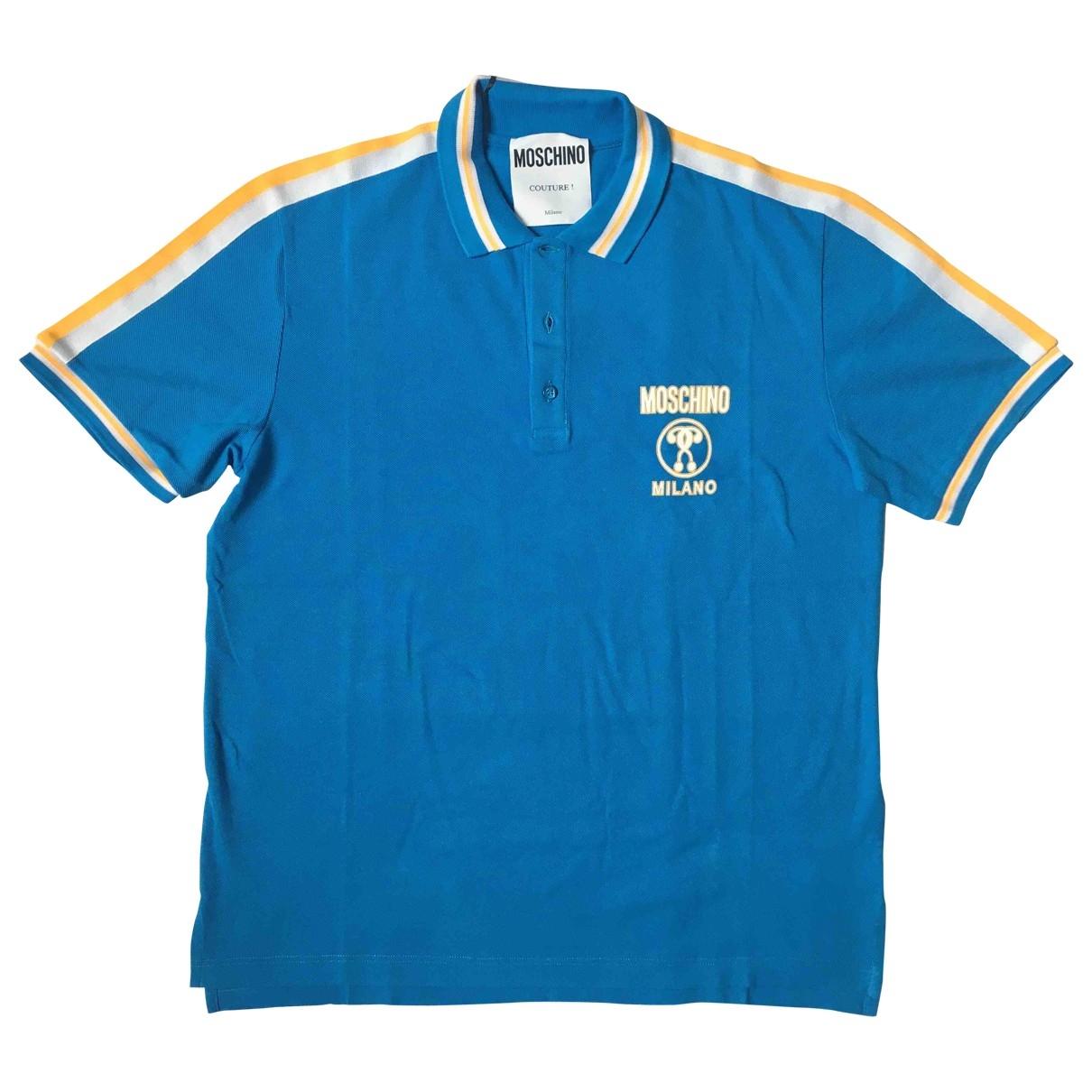 Moschino \N Poloshirts in  Tuerkis Baumwolle