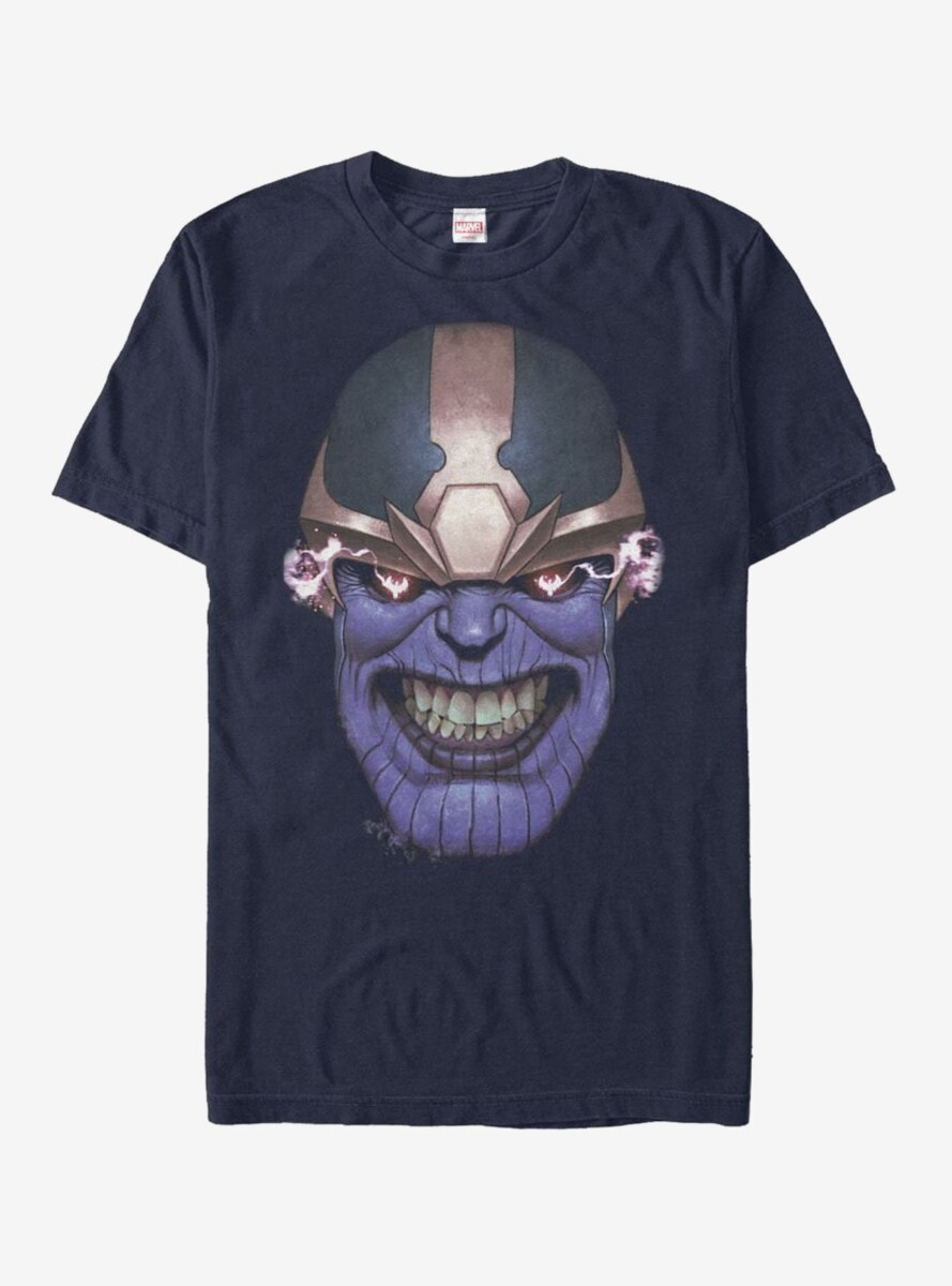 Marvel Thanos Grinning Face T-Shirt