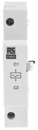 RS PRO Auxiliary Contact - , DIN Rail Mount