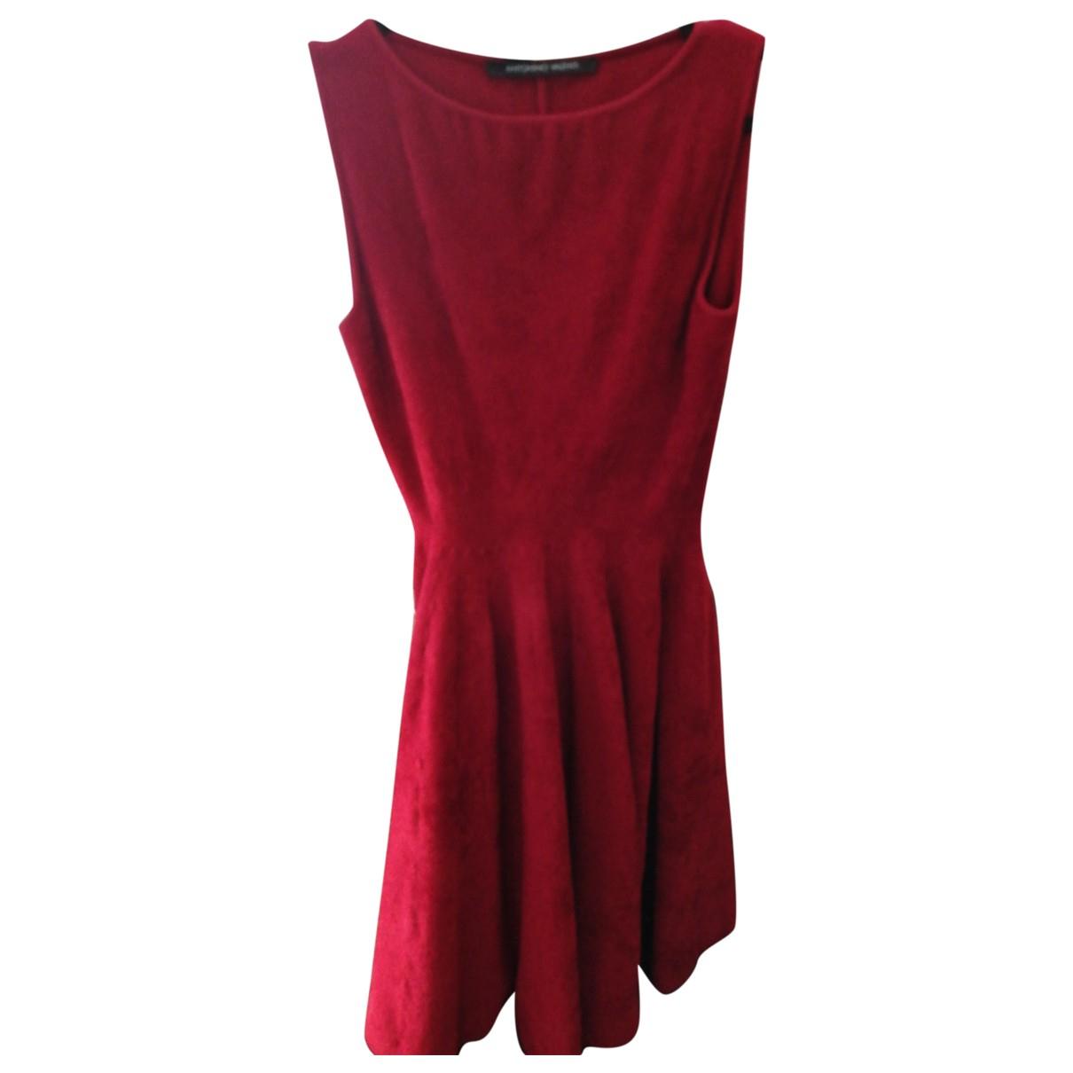 Antonio Valenti \N Kleid in  Rot Viskose