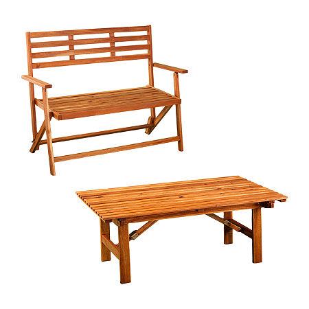 Ogsland Outdoor Conversation Set, One Size , White