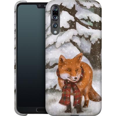 Huawei P20 Pro Smartphone Huelle - Winter Fox von Terry Fan