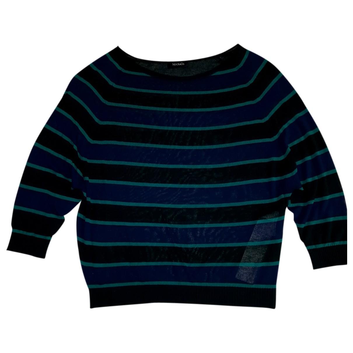 Max & Co N Blue Knitwear for Women 42 FR