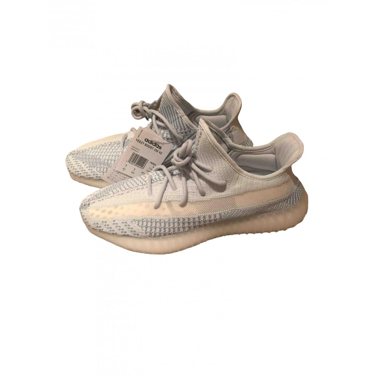 Yeezy X Adidas - Baskets Boost 350 V2 pour homme en toile - bleu