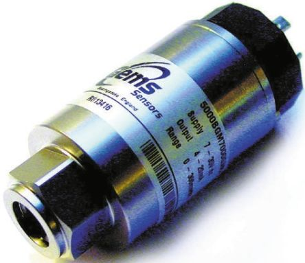 Gems Sensors Pressure Sensor for Sea Water , 70mbar Max Pressure Reading Analogue