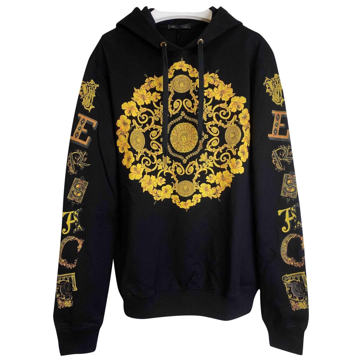 Versace \N Black Cotton Knitwear & Sweatshirts for Men S International