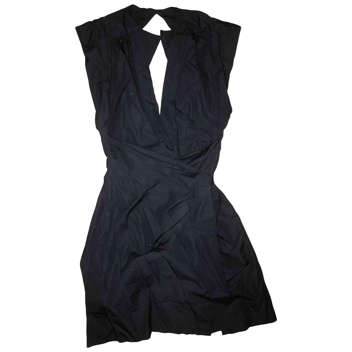 Isabel Marant \N Black Cotton dress for Women 40 FR